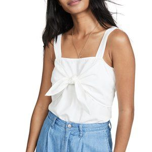 [NWT] Madewell White Tie Front Cami